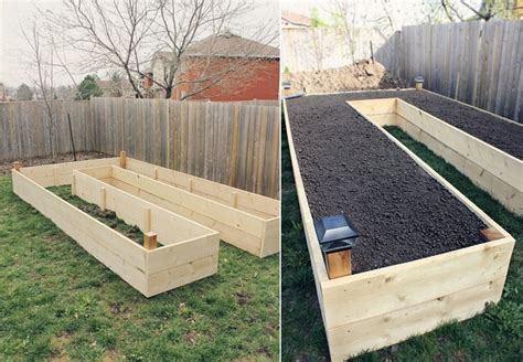 how to make a raised garden bed how to build a u shaped raised garden bed icreatived