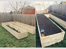 How to Build A UShaped Raised Garden Bed iCreatived