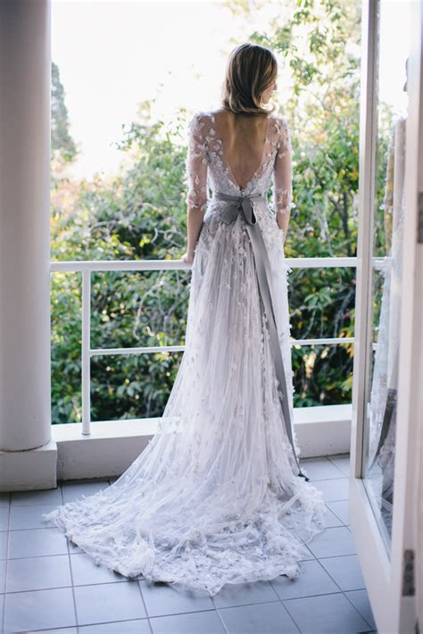 garden wedding dresses outdoor fall wedding once wed