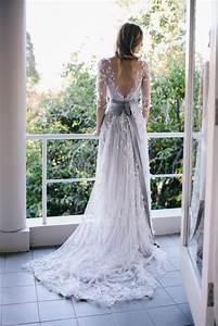 romantic outdoor fall wedding once wed With outdoor wedding dress ideas