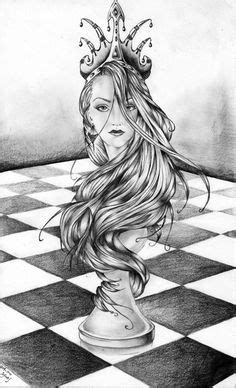 queen chess piece drawings - Google Search | design | Tattoos, Queen of hearts tattoo, Chess tattoo