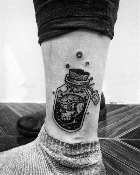 40 Poison Bottle Tattoo Designs For Men - Killer Ink Ideas