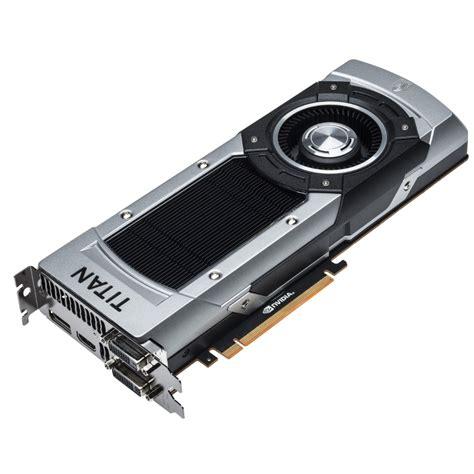 titan black nvidia launches geforce gtx titan black edition video card