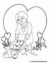 Coloring Chandelier Valentine Getcolorings Printable Getdrawings sketch template