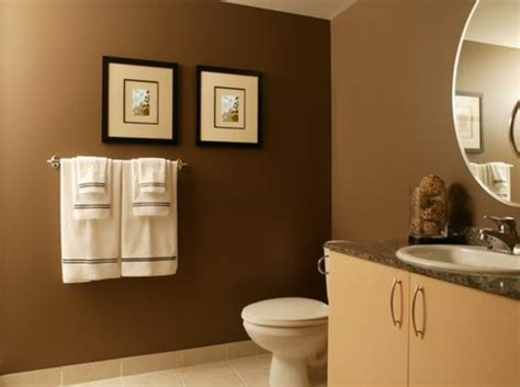 wall colors in shades of brown warmth and cosiness at home