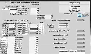 Electrical Power Calculator Excel