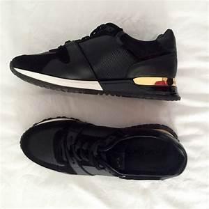 Sneakers Louis Vuitton Homme : baskets louis vuitton noir en cuir vestiaire collective ~ Nature-et-papiers.com Idées de Décoration