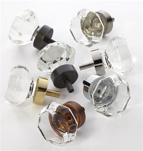 glass cabinet door knobs octagon glass cabinet knob rejuvenation