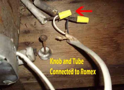 knob tube wiring home inspector  barrie orillia