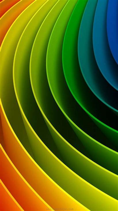 Wallpapers 4k Wheel 3d Abstract Colors Rainbow