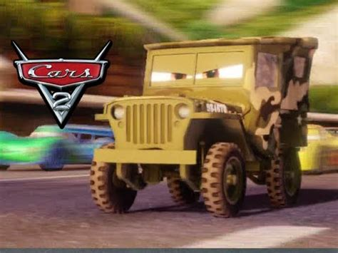 Cars 2 Sarge by Cars 2 The Videogame Camo Sarge Gameplay