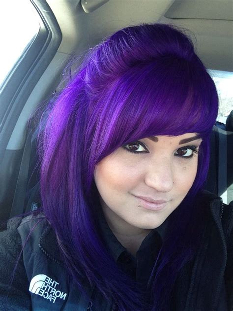 Purple Hair Pravana Vivids Violet Purple Lavender
