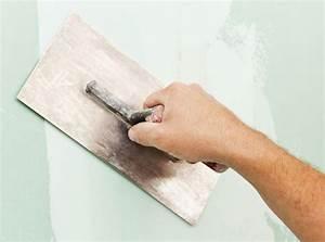comment appliquer un enduit lissage sur mur pratiquefr With enduit de lissage sur peinture