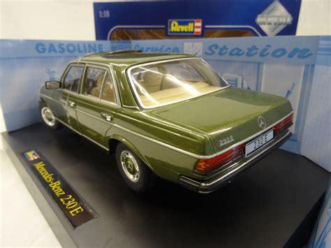 revell scale 1 18 mercedes 230e type w123 colour green catawiki