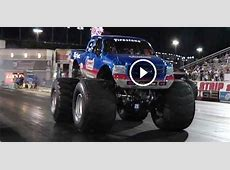 EPIC MOMENT In Drag Racing History BIGFOOT MONSTER TRUCK