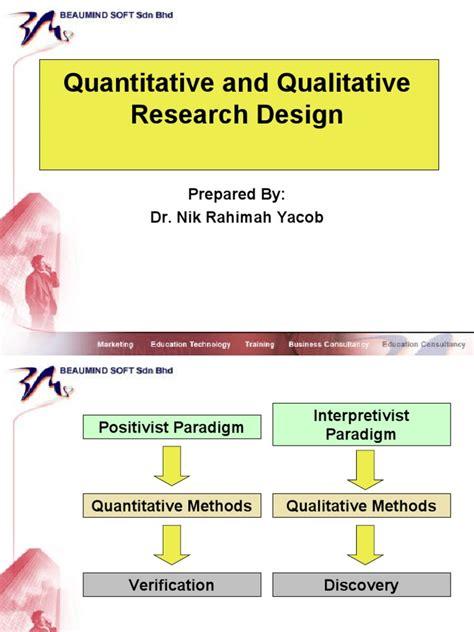 qualitative research design ukm quantitative and qualitative research design