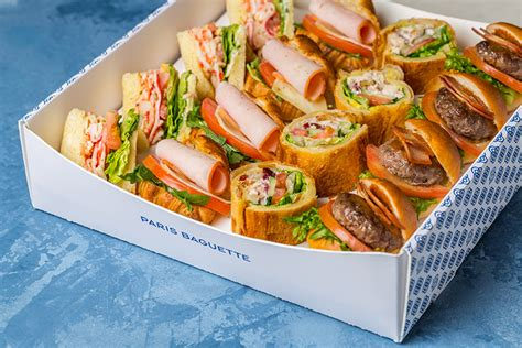savoury canapes baguette bakery café sg delivery order your