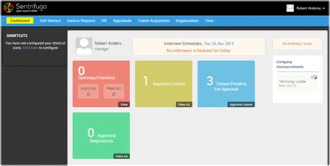 the top 10 free and open source hr software systems