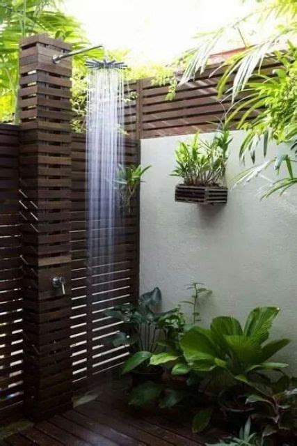 outdoor shower decor ideas   digsdigs