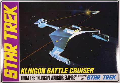 Amt 0720 1/650 Star Trek Klingon Battle Cruiser Kit First Look