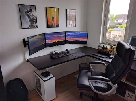 gaming desk setup ideas the best gaming setup ideas pc on attractive interior