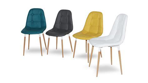 chaise capitonné chaise confortable salle a manger valdiz