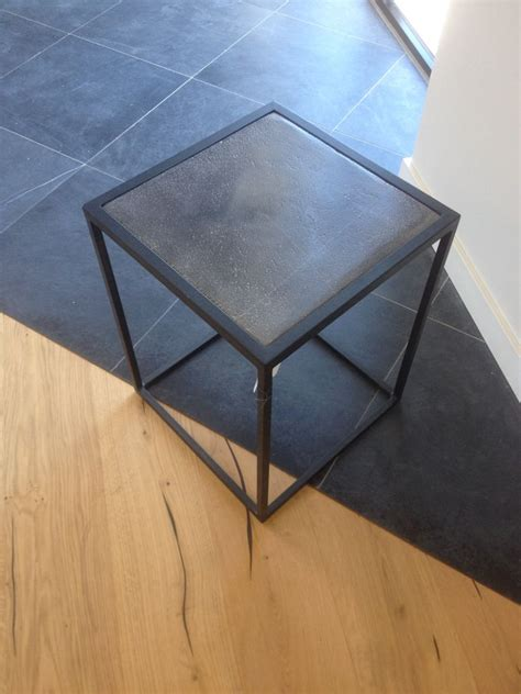 table de chevet fer forge noir table de chevet fer forge noir maison design modanes