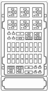 2004 Ford Focus Fuse Panel Diagram