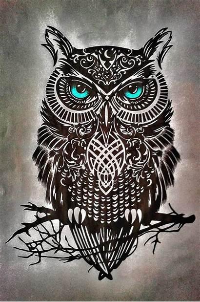 Zedge Owl Tattoo Baykus Wallpapers Tattoos Celtic
