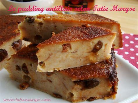 la cuisine de maryse le pudding antillais comment le réaliser