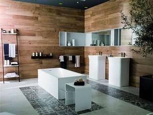 salle de bains design 12 photos pour s39inspirer cote With salle de bain design avec fausses cheminées décoratives