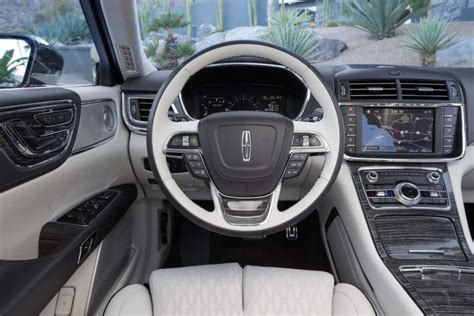 lincoln continental interior hd image car rumors