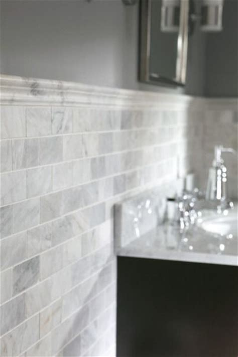 carrara marble subway tile lowes roselawnlutheran