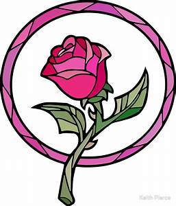 """""""Stained Glass Rose 