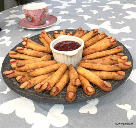 cuisine de mercotte recettes los dedos de bruja doigts de sorcière le meilleur