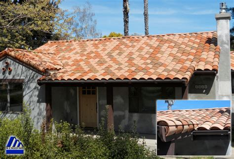clay tile roof faux mission detail rustic exterior