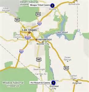 Laughlin Nevada Casinos Map