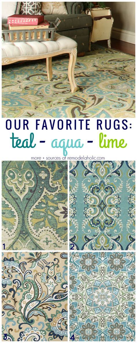 lime green area rug remodelaholic 20 green and blue area rugs you ll 7084