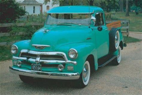 1954 Chevrolet Series 3100 Halfton Pickups Howstuffworks