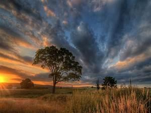 Superb, Rural, Sunrise, Hd, Wallpaper, 538504, Wallpapers13, Com