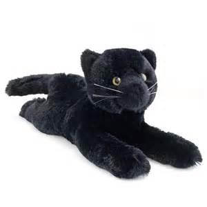 plush cat tug the 14 inch plush black cat by douglas