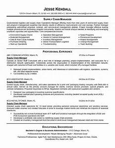 supply chain manager resume With supply chain coordinator resume sample