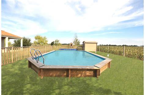 piscine bois leclerc
