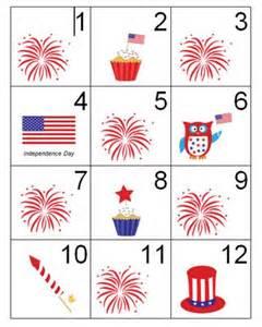 Free July Printable Calendar Numbers