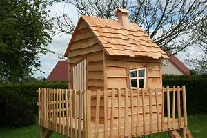 Construire Cabane De Jardin : construire une cabane de jardin pour enfant 6 cabanes ~ Zukunftsfamilie.com Idées de Décoration