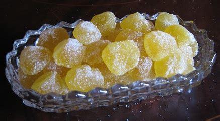 homemade lemon gum drops recipe whats cooking america