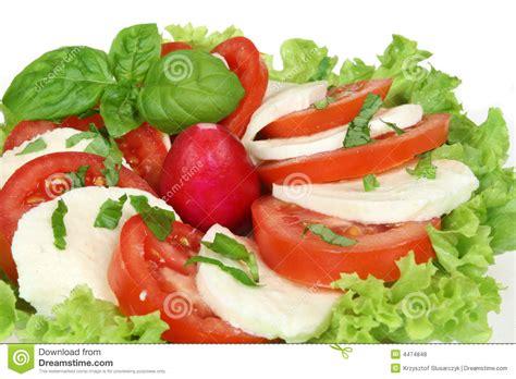 cuisine ot italienischer salat stockfoto bild rettich kopfsalat 4474848