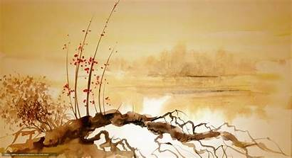 Chinese Painting Desktop Wallpapers Paintings Traditional Pc