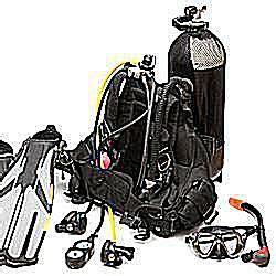 equipment     scuba dive