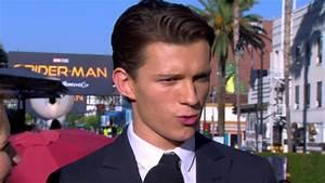 Spiderman Homecoming Star Tom Holland at Los Angeles World ...